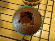 Cored Cupcake