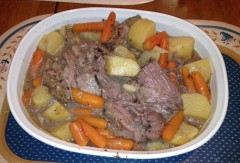 Pot Roast Finish