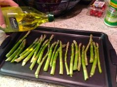 asparagus oil
